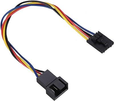 ASHATA Cable de conversión de Adaptador de Ventilador dedicado ...