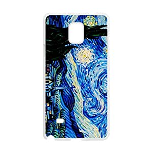 van gogh starry night Cell Phone Case for Samsung Galaxy Note4