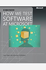 How We Test Software at Microsoft Paperback