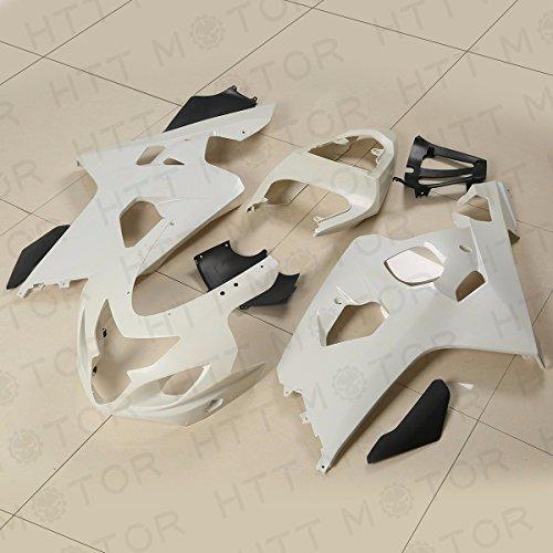 XKMT Group Unpainted ABS Plastic Injection Fairings Bodywork for 04-05 Suzuki GSXR 600 750