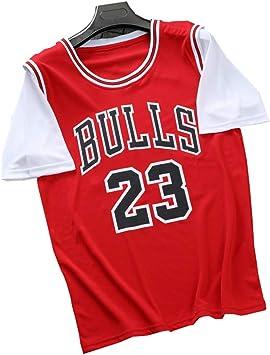 FILWS Camiseta De Baloncesto Michael Jordan Fake Uniforme De ...