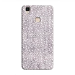 Cover It Up - Purple Pebbles Mosaic V3 Hard Case