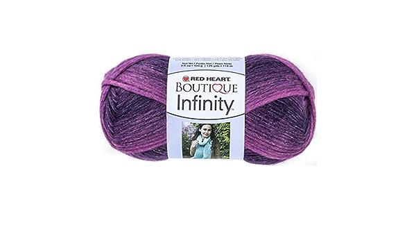 Red Heart Infinity Yarn #9530 Enchanted ~ 3.5 Ounces 129 Yards knitting, crochet 100 Grams