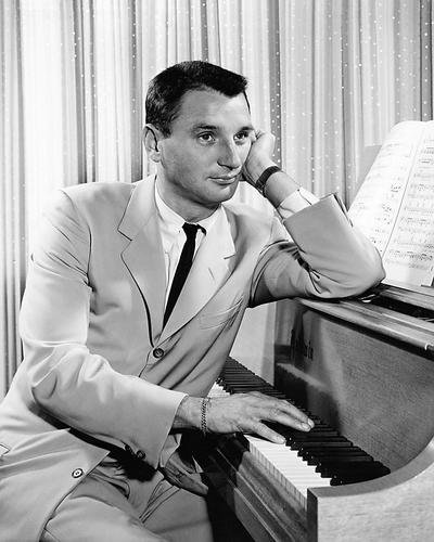Bobby Troup Seated at Piano Rare Poster