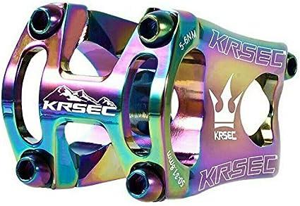 KRSEC Aluminum Stems 0° Mountain Bike handlebar bar Short Stem 31.8*45mm Black