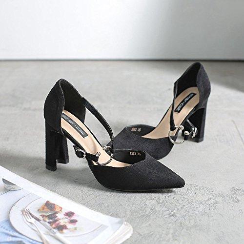 punta Bold tac de de y plana mujer los zapatos zapatos 6Uxq5U