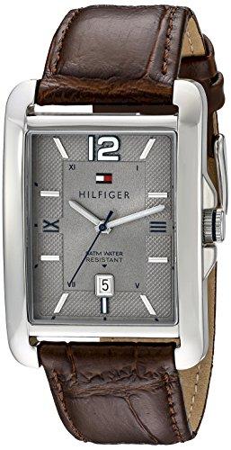 Tommy Hilfiger Men's 1791199 Casual Sport Analog Display Quartz Brown Watch