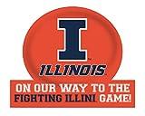 Illinois Fighting Illini Jumbo On Our Way Magnet