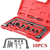 BEESCLOVER 10pcs/Set Valve Spring Clamps Compressor