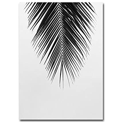 Black And White Canvas Palm Tree Leaves Free Download Oasis Dl Co