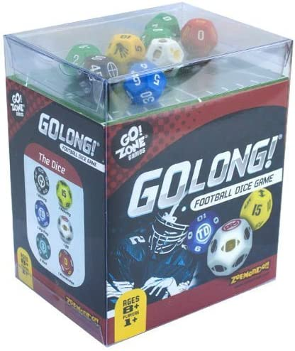 Go Long Football Dice Game