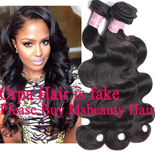 - Darlena 8A Brazilian Virgin Hair Body Wave 3 Bundles 14 16 18 inch Virgin Human Hair Bundles Brazilian Hair Weave Total 300 Grams Natural Color