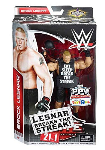 Mattel, WWE, Elite Exclusive Action Figure, Brock Lesnar (Lesnar Breaks the Streak 21-1) by Generic
