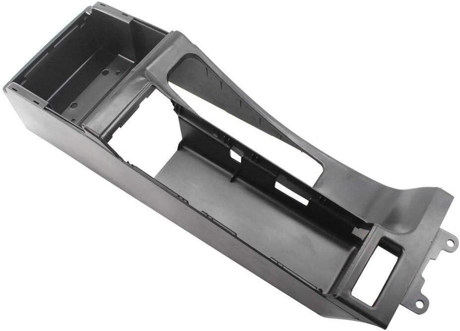 Color : Black Mittelkonsole Trim Base Fit for BMW E46 325i 328i 330i M3 Autoteile Leicht Zu Installieren