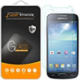 """[2-Pack] Supershieldz for Samsung """"Galaxy S4 Mini"""" Tempered Glass Screen Protector, Anti-Scratch, Bubble Free, Lifetime Replacement Warranty"""