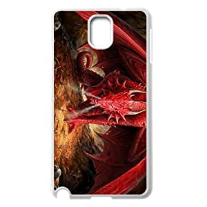 ALICASE Diy Case Red Dragon For samsung galaxy note 3 N9000 [Pattern-6]