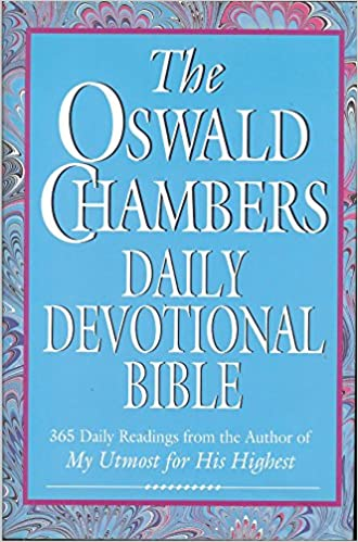 Image result for oswald chambers daily devotional bible