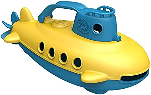 Green-Toys-Submarine-BPA,-Phthalate-Free-Blue-Watercraft