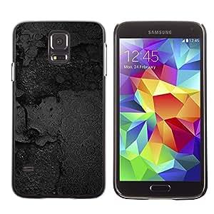 Caucho caso de Shell duro de la cubierta de accesorios de protección BY RAYDREAMMM - Samsung Galaxy S5 SM-G900 - Black Texture