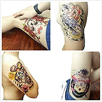 Sun Up Cool Temporary Tattoo for Cool guys Series /8-pack (B)