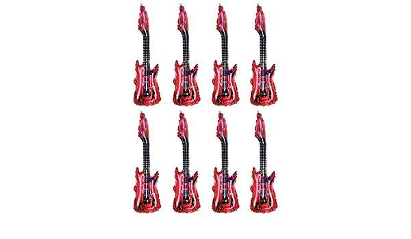 Reuvv 8 Piezas Guitarra Globo Aluminio Película Hinchable ...