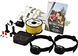 Electric Dog Fence - DOGTEK Underground Pet Containment System - 2 Dog Kit - 1000' Perimeter Wire