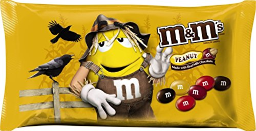 M&M's Fall Harvest Peanut Chocolate Candy, 11.4 oz (Dance Costumes On Line)