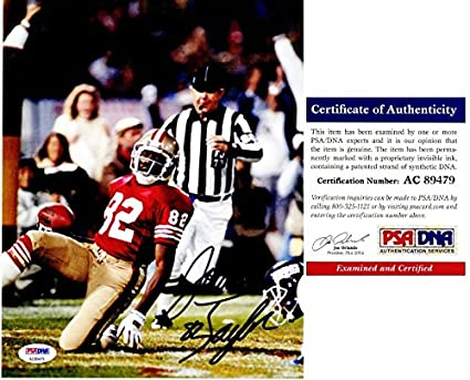 Image Unavailable. Image not available for. Color  John Taylor Signed -  Autographed San Francisco 49ers ... da8104d6a