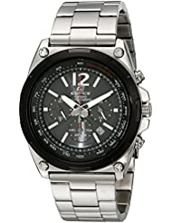 Casio Mens EFR-545SBDB-1BVCF Edifice Tough Solar Stainless Steel Watch