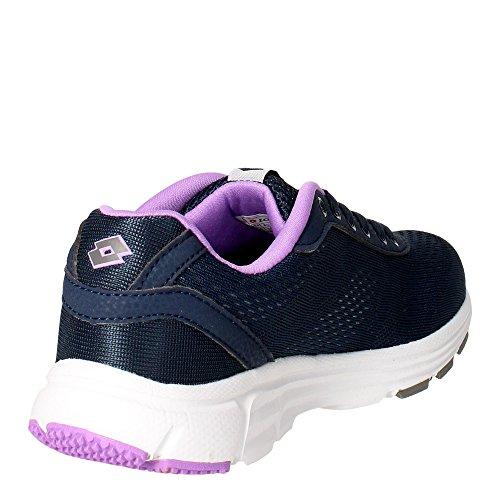 Lotto Gliderun W, Zapatillas de Running Mujer Azul / Gris (Blu Avi / Tit Gry)