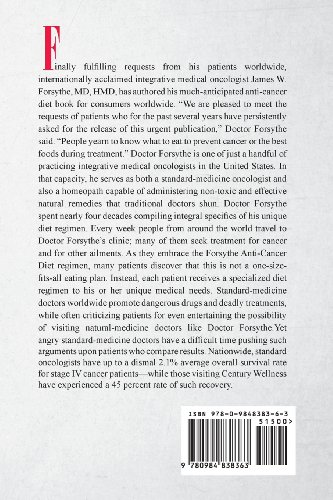 Forsythe Anti-Cancer Diet