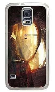 Brian114 Samsung Galaxy S5 Case, S5 Case - Fashion Crystal Clear Hard Case for Samsung Galaxy S5 Tree Swing 2 Waterproof Back Hard Case for Samsung Galaxy S5 I9600