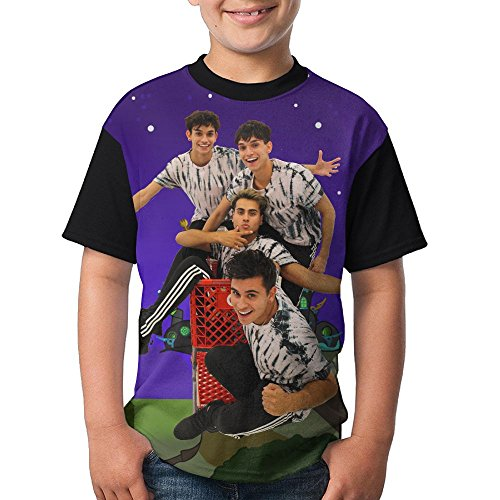 F&Rtees Attack Dobre Brothers 3D Print Young Summer Raglan Short Sleeves Shirts by F&Rtees