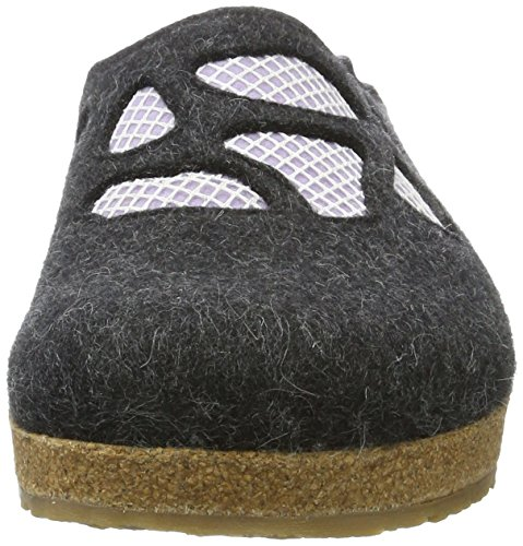 Haflinger Grizzly Michelle - Zapatillas Mujer Grau (Graphit)