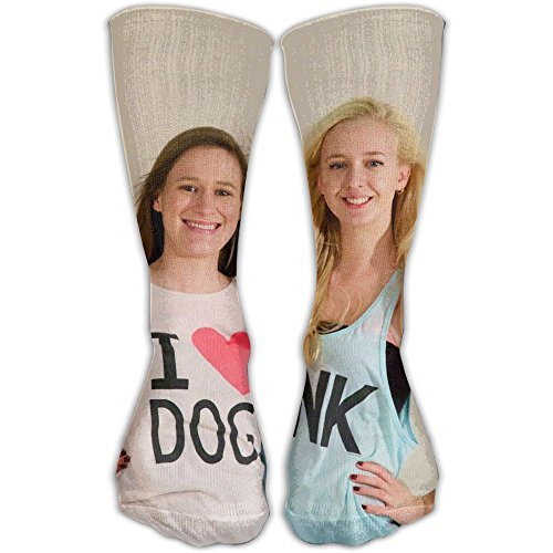 Kaelyn & Lucy Elevated Performance Crew Socks For