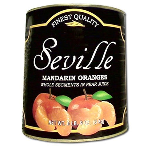 Mandarin Orange Whole In Juice -- 6 Case 10 no.10 Can by Imports (Image #1)