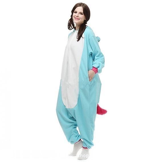 Misslight Unicornio Pijamas Animal Ropa de dormir Cosplay Disfraces Kigurumi Pijamas para Adulto Niños Juguetes y Juegos (S, Blue): Amazon.es: Juguetes y ...