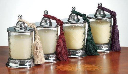 Badash Vanilla Scented Candle Jar Set 4 pc by Badash B000PT10BO
