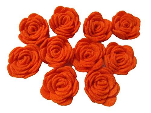 YYCRAFT Pack of 20PCS Felt Rose 1.5