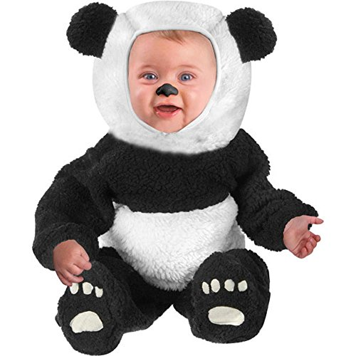 Full Body Panda Costume (Infant Baby Panda Bear Halloween Costume (18-24)