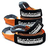 """Search : GearAmerica (2PK) Recovery Tow Straps 3"""" x20' 