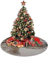 WU4FAAR Falda para árbol de Navidad, diseño de Gato Russell, Tela ...