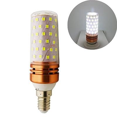 1x E14/LED Lumière blanc froid 10W/1000lm/avec 84SMD LEDs, 100W Ampoules Halogène de rechange, 1pièce