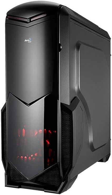 Aerocool BATTLEHAWK- Caja gaming para PC (semitorre, ATX, ventana ...