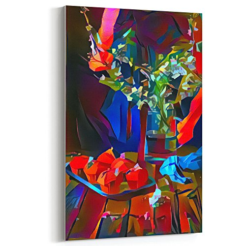 Westlake Art - Art Modern - 12x18 Canvas Print Wall Art - Canvas Stretched Gallery Wrap Modern Abstract Artwork Home Decor - Ready to Hang 12x18 Inch (CD42-089D1) ()