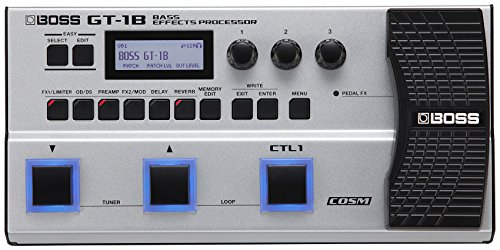 Boss GT-1B Bass Effects Processor with 1 Year EverythingMusi