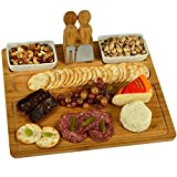 Picnic at Ascot CB20 Sherborne Bamboo Cheese Board, Available with & Without Markers, Oxford