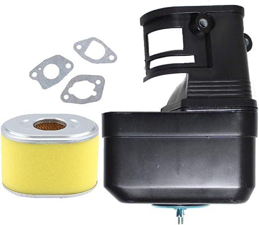 UAUS 6 Pcs Air Filter Cleaner Element Fits 5.5HP /& 6.5HP Honda GX160 /& GX200