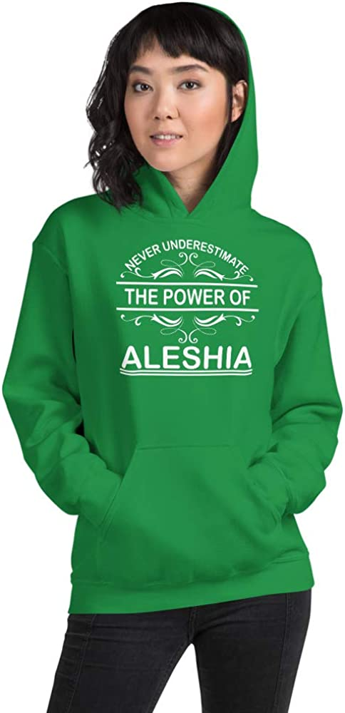Never Underestimate The Power of Aleshia PF