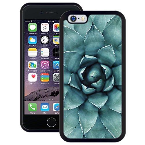 Blume | Handgefertigt | iPhone 6 6s (4,7') | Schwarze Hülle